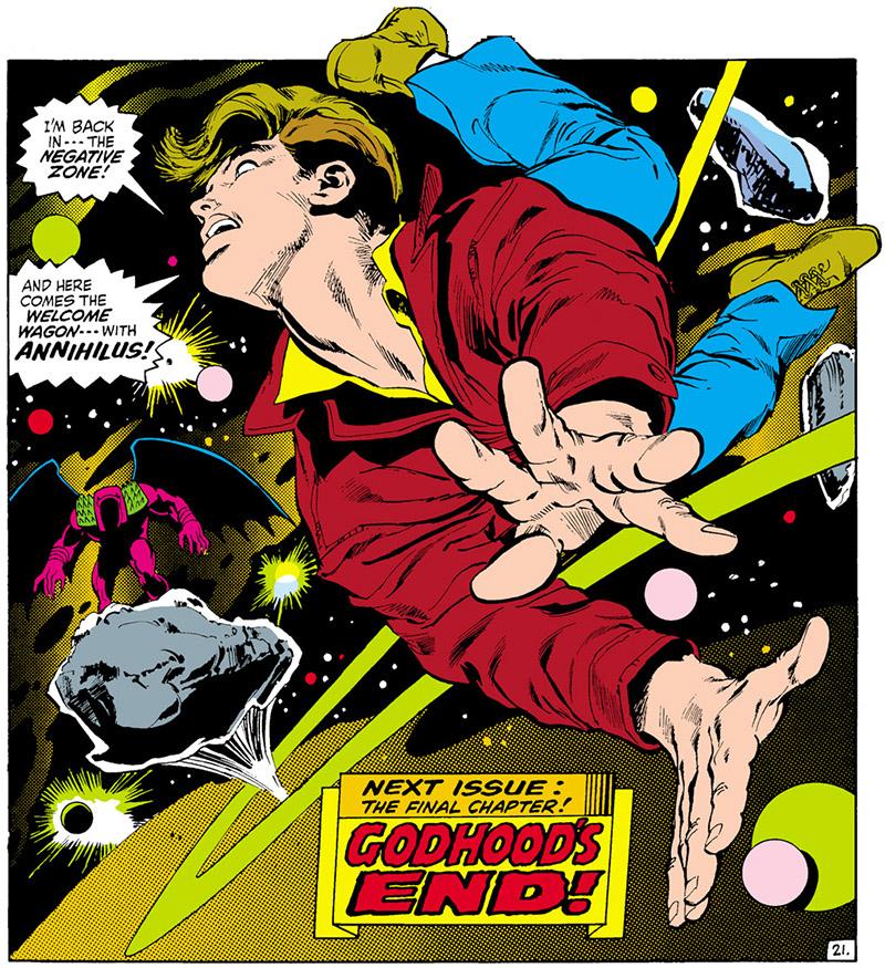 La Guerra Kree-Skrull o ¿Qué hiciste en la guerra intergaláctica,papi?