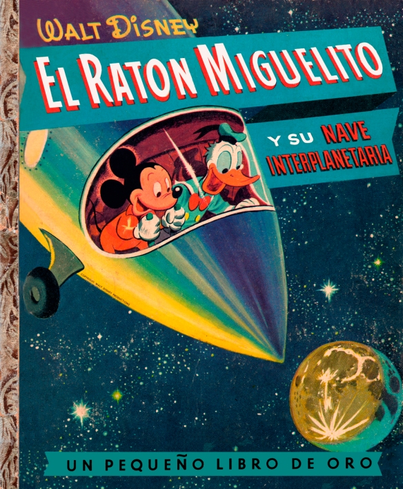 Portada de El Raton Miguelito y su nave espacial