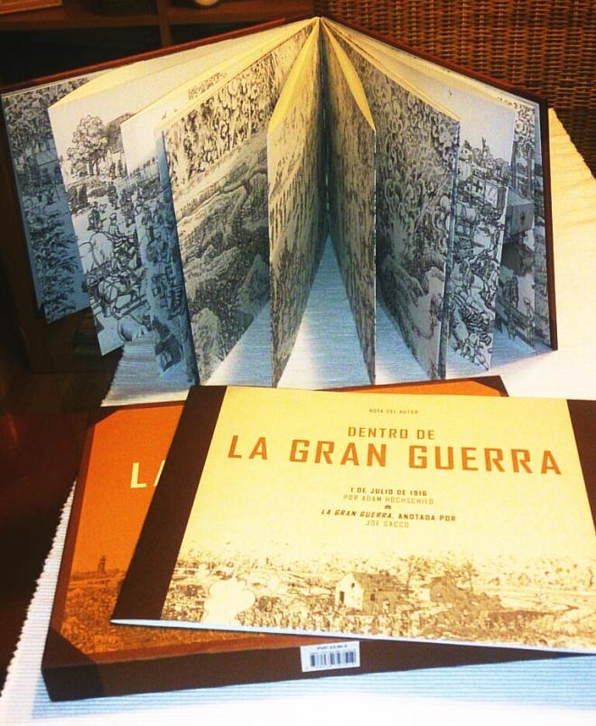 La Gran Guerra se presenta en un precioso estuche que incluye la ilustración y un libreto explicativo