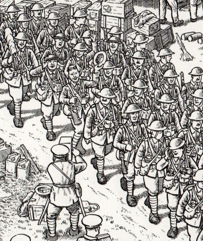 Casi 30.000 seres humanos murieron el primer día de la batalla del Somme