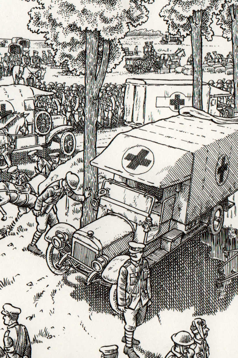 """""""La Gran Guerra"""" de Joe Sacco: Siete metros y medio de denuncia de la estupidezhumana"""