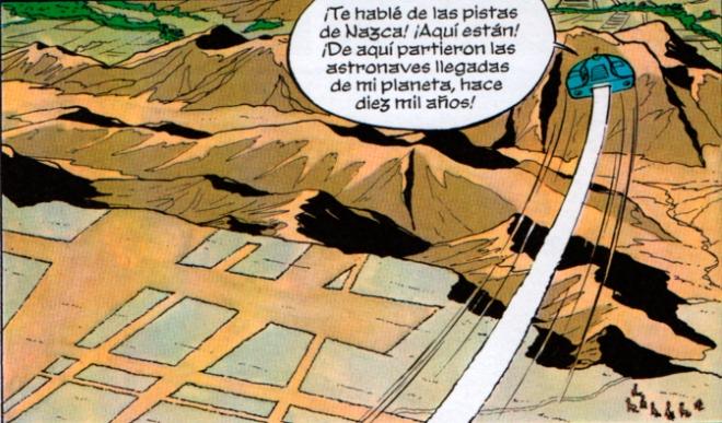 El pasaportodo sobrevuela las pistas de Nazca
