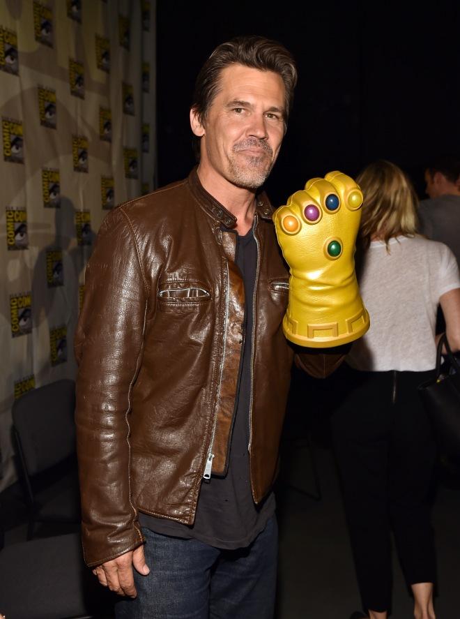 Josh Brolin (Thanos) en la presentación de