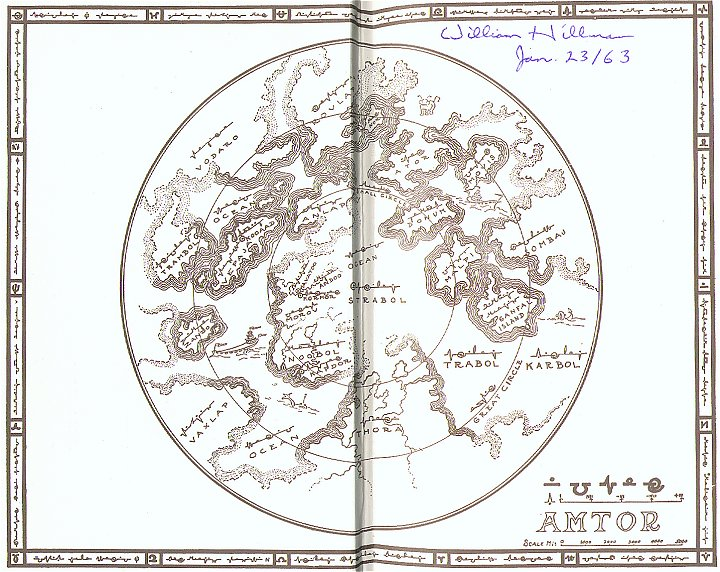 El ciclo de Venus deBurroughs
